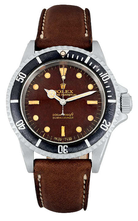 Rolex-Submariner-Tropical-Dial-1967